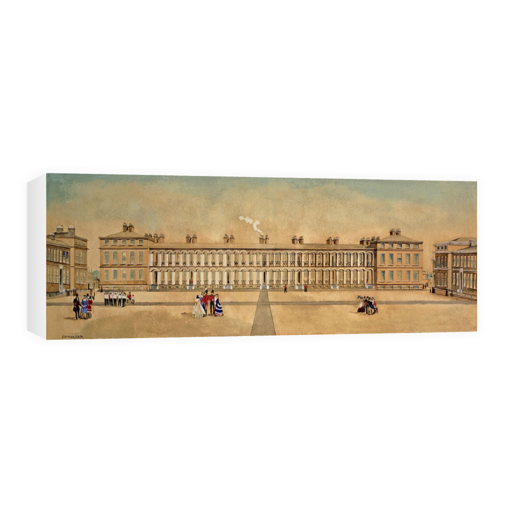 Royal Marines Barracks Woolwich, 1855 Canvas