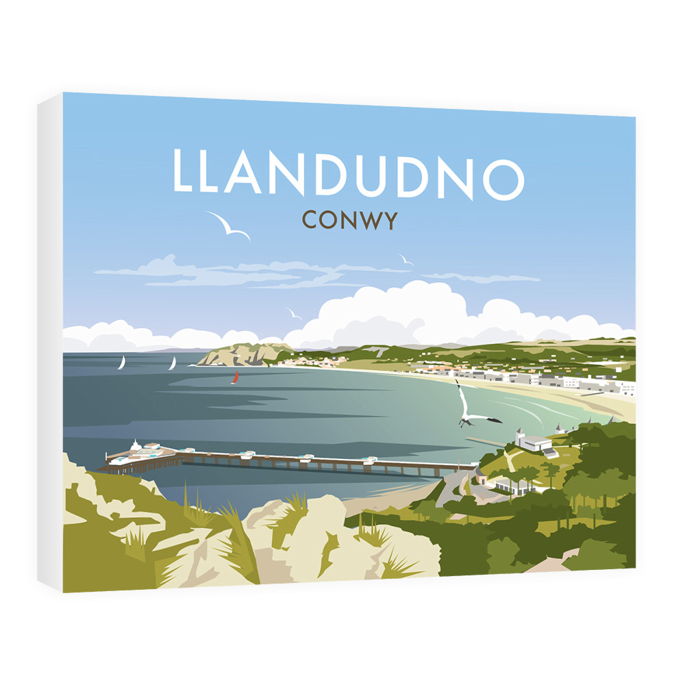 THOMPSON379: Llandudno, Wales - Canvas