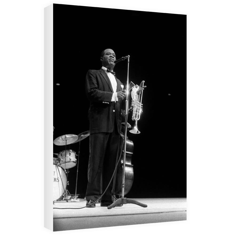 Louis Armstrong Canvas