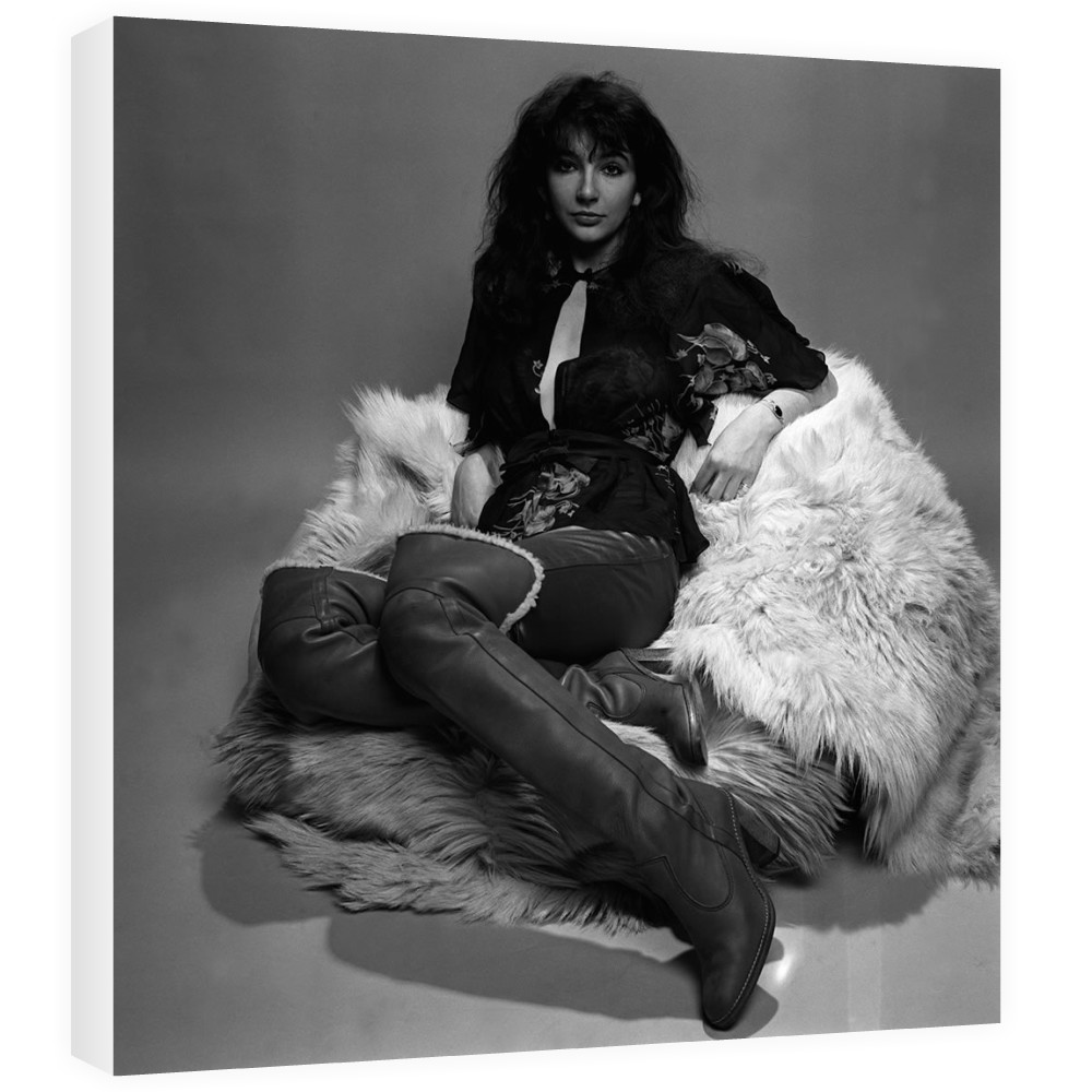 Singer Kate Bush in the studio March 1978 Canvas