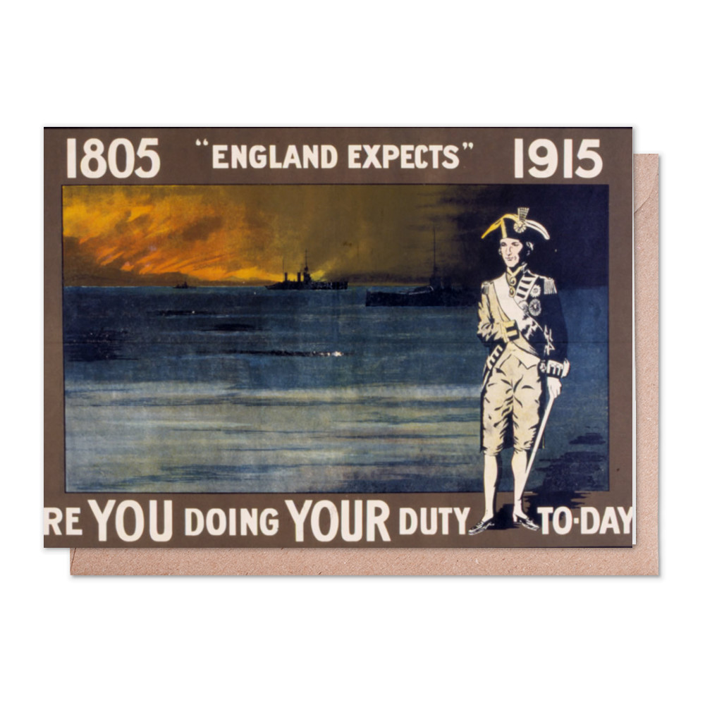 Are You Doing Your Duty To-Day? Greeting Card (x2)