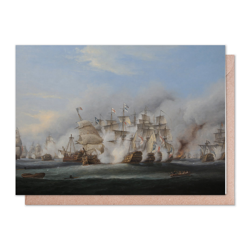 Battle of Trafalgar Greeting Card (x2)