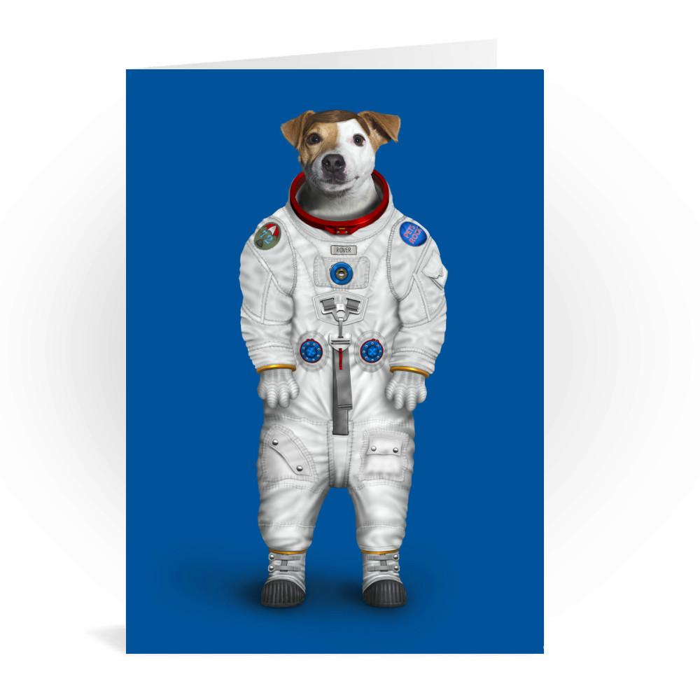 Rover Pets Rock Greeting Card