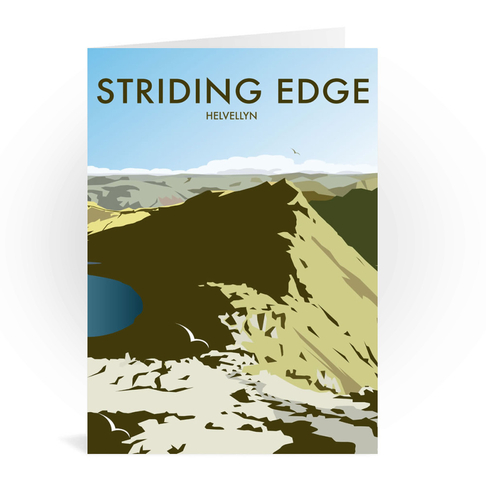 Helvellyn Edge, Lake District Greeting Card