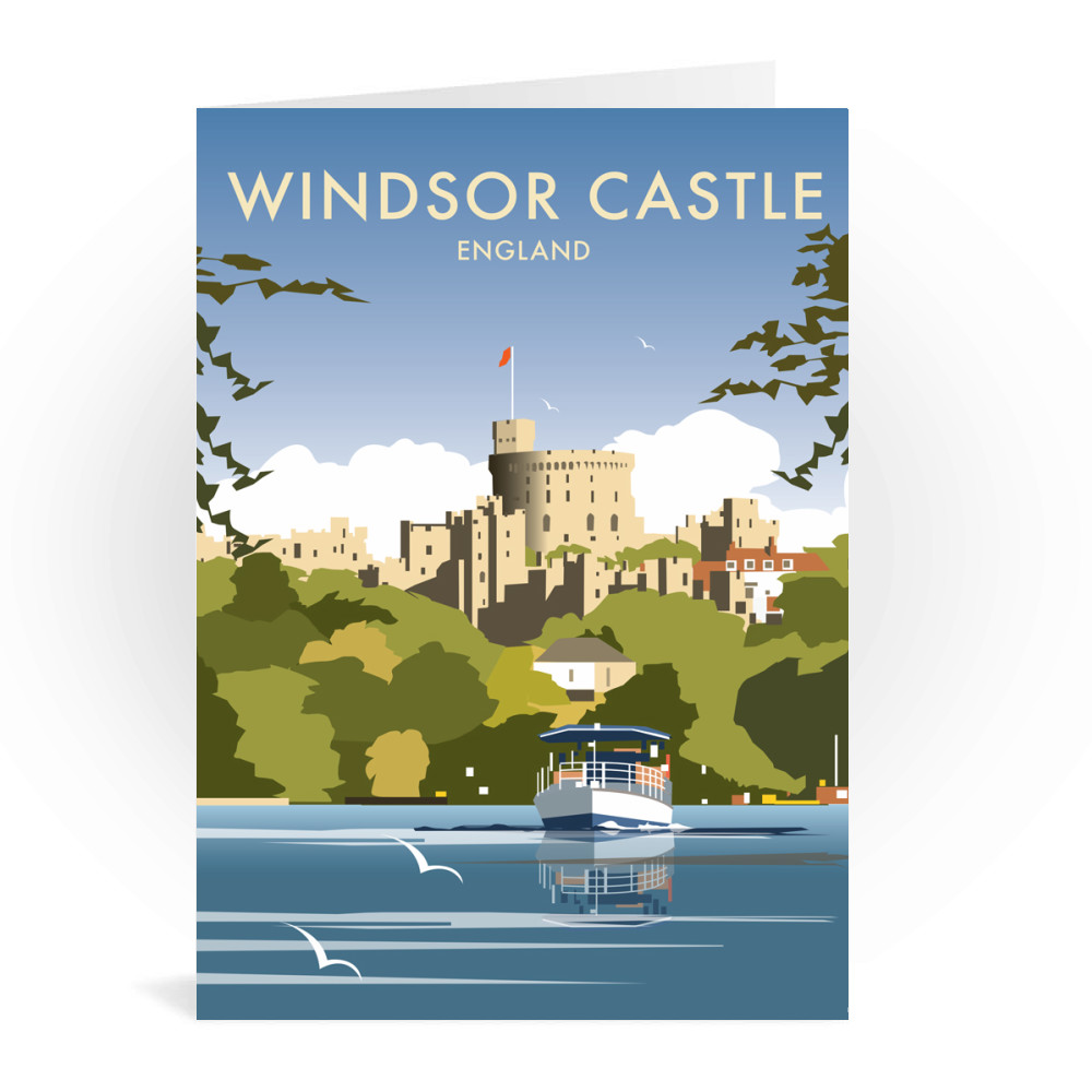 Windsor Castle - England Greeting Card