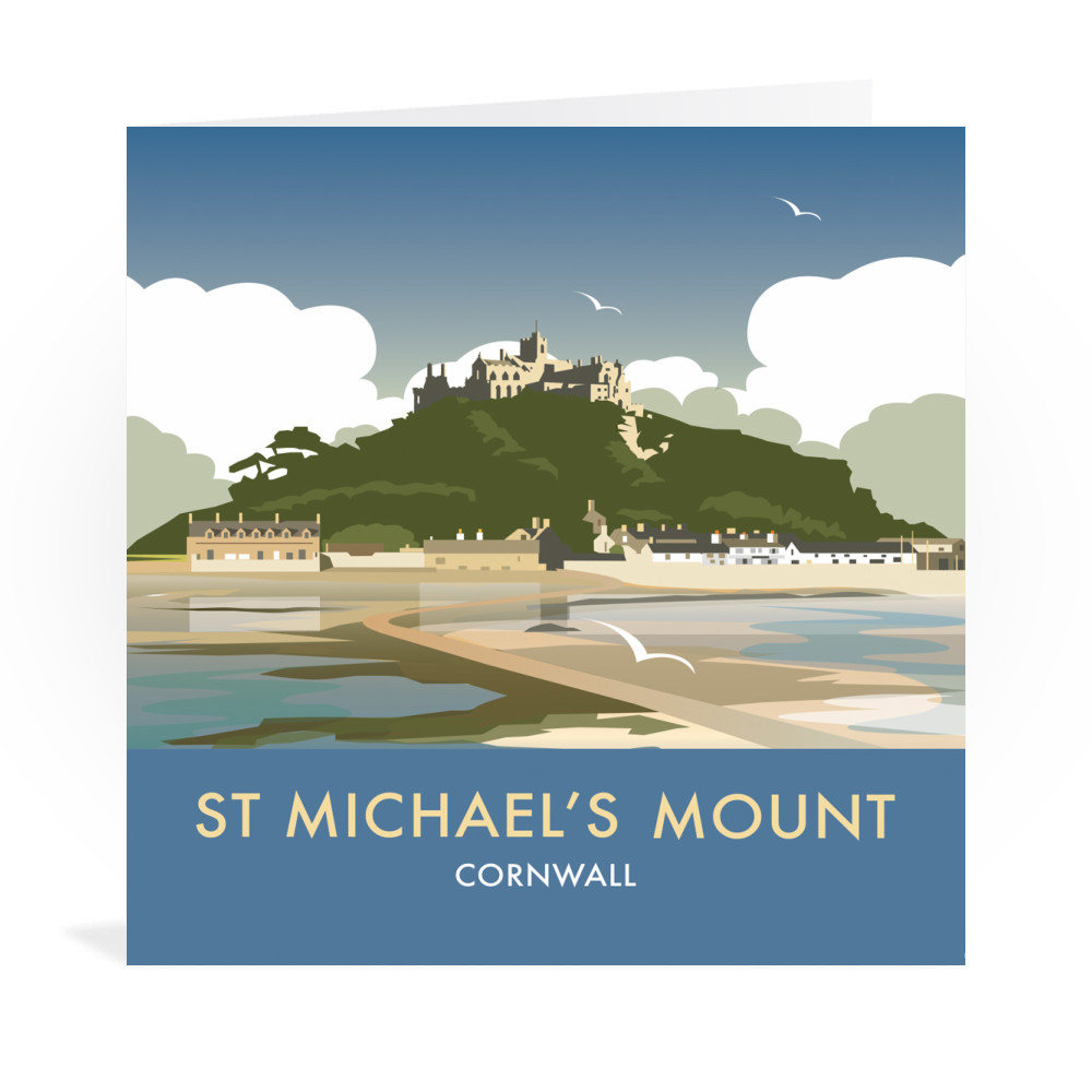 St Michaels Mount Greeting Card