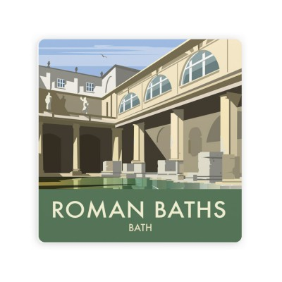 Roman Baths Art Print on gym home, quote home, steam room home, sauna home, england home,