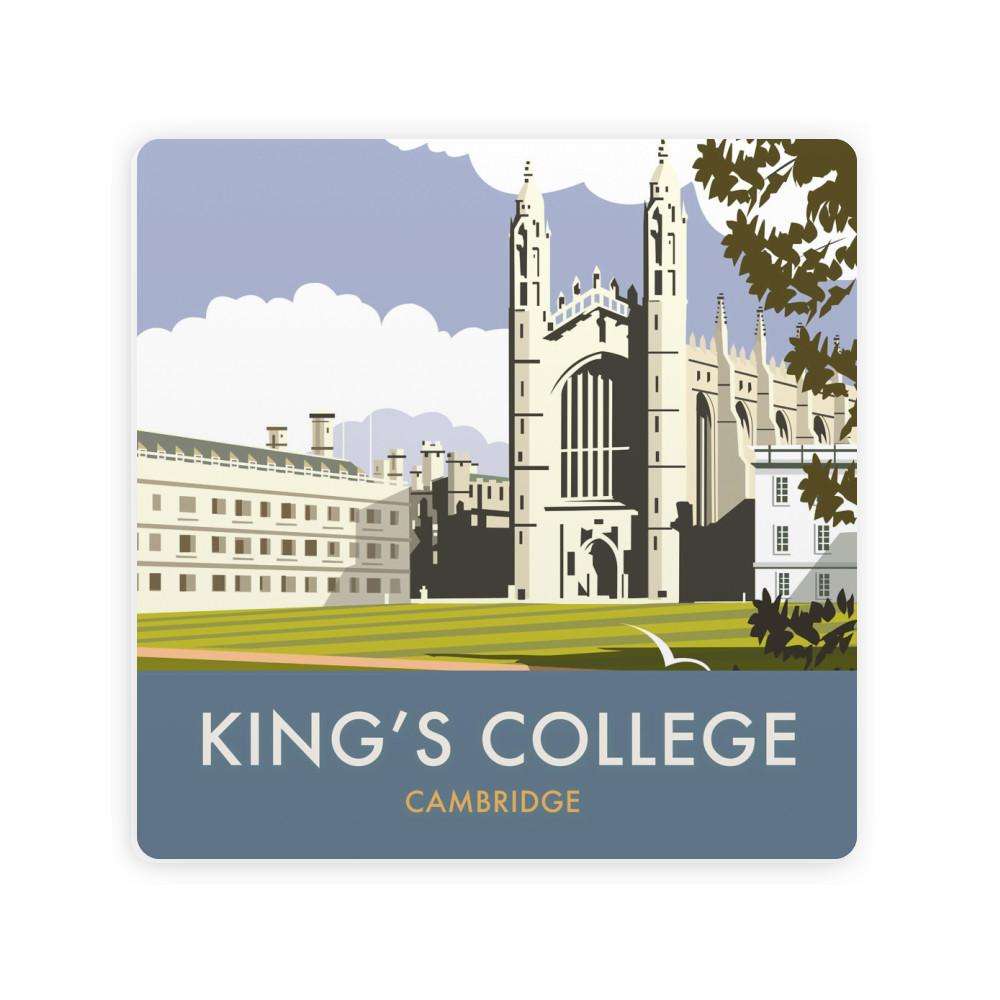 Kings College, Cambridge Ceramic Coaster