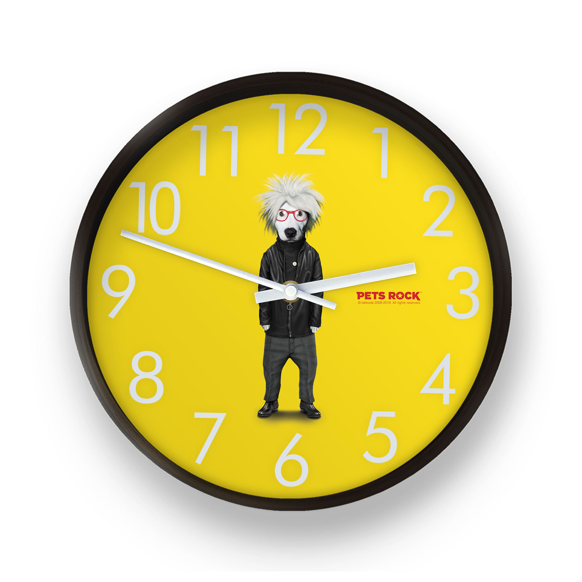 Soup Pets Rock Wall Clock