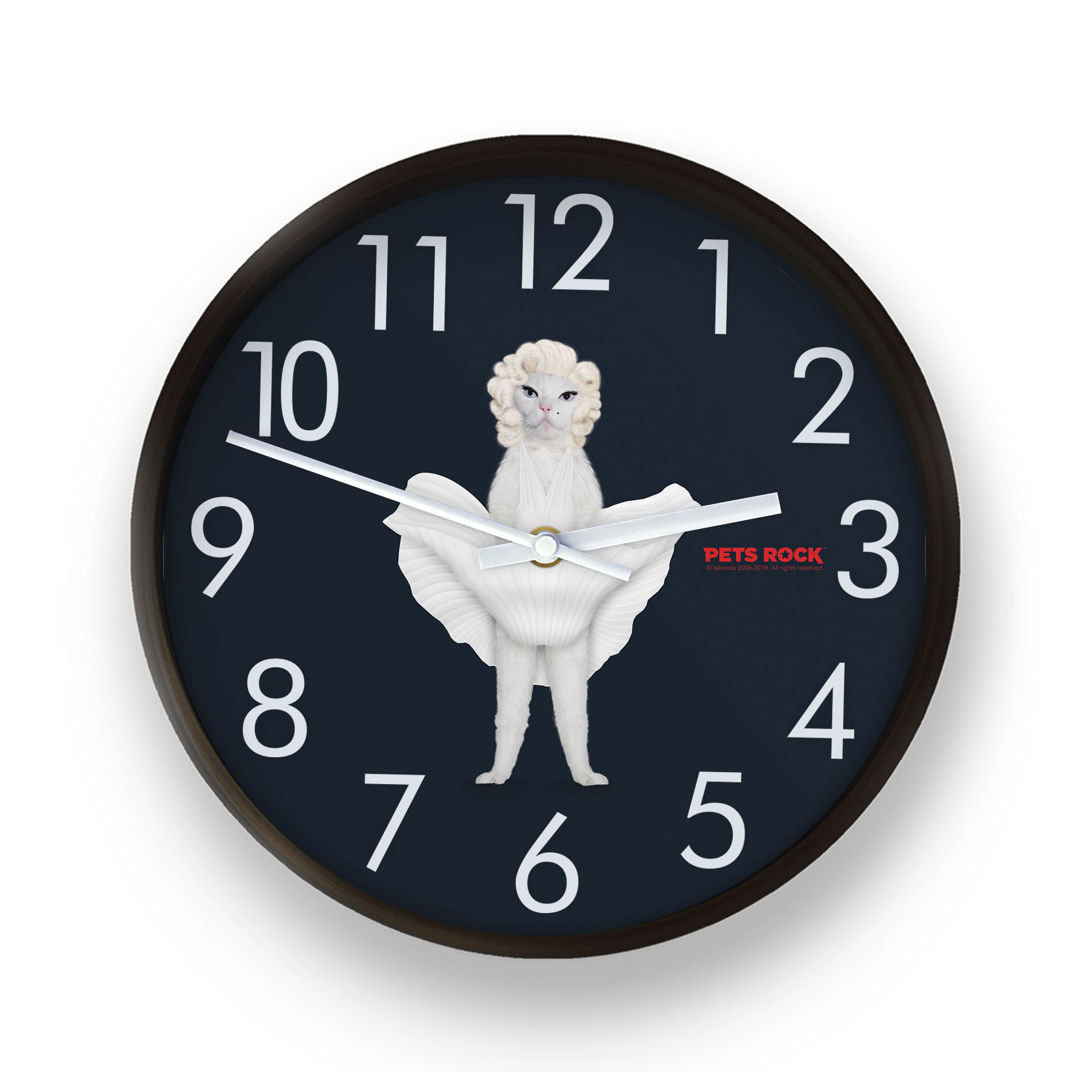 Diamonds Pets Rock Wall Clock