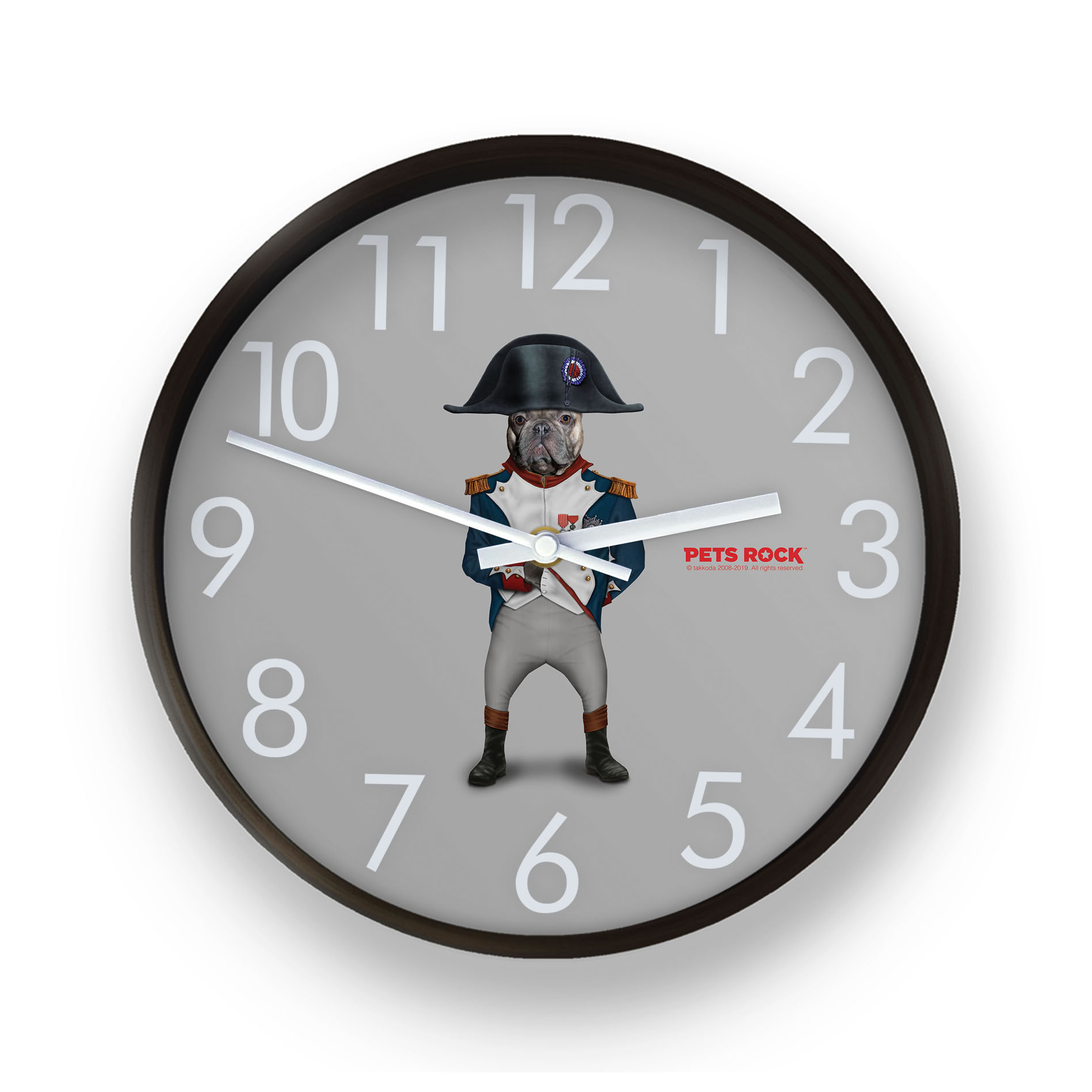 Napoleon Pets Rock Wall Clock