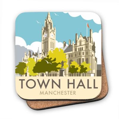 Manchester Town Hall Art Print