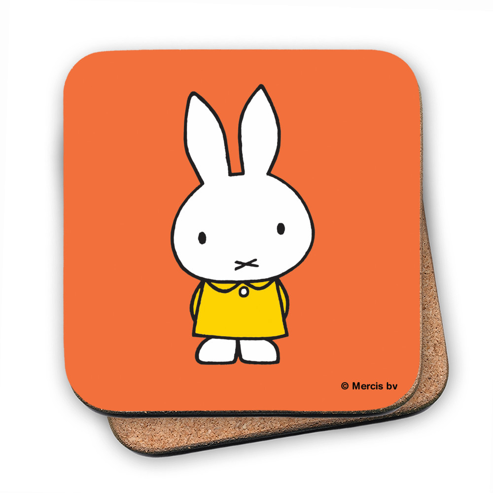 Miffy in a Yellow Dress Coaster