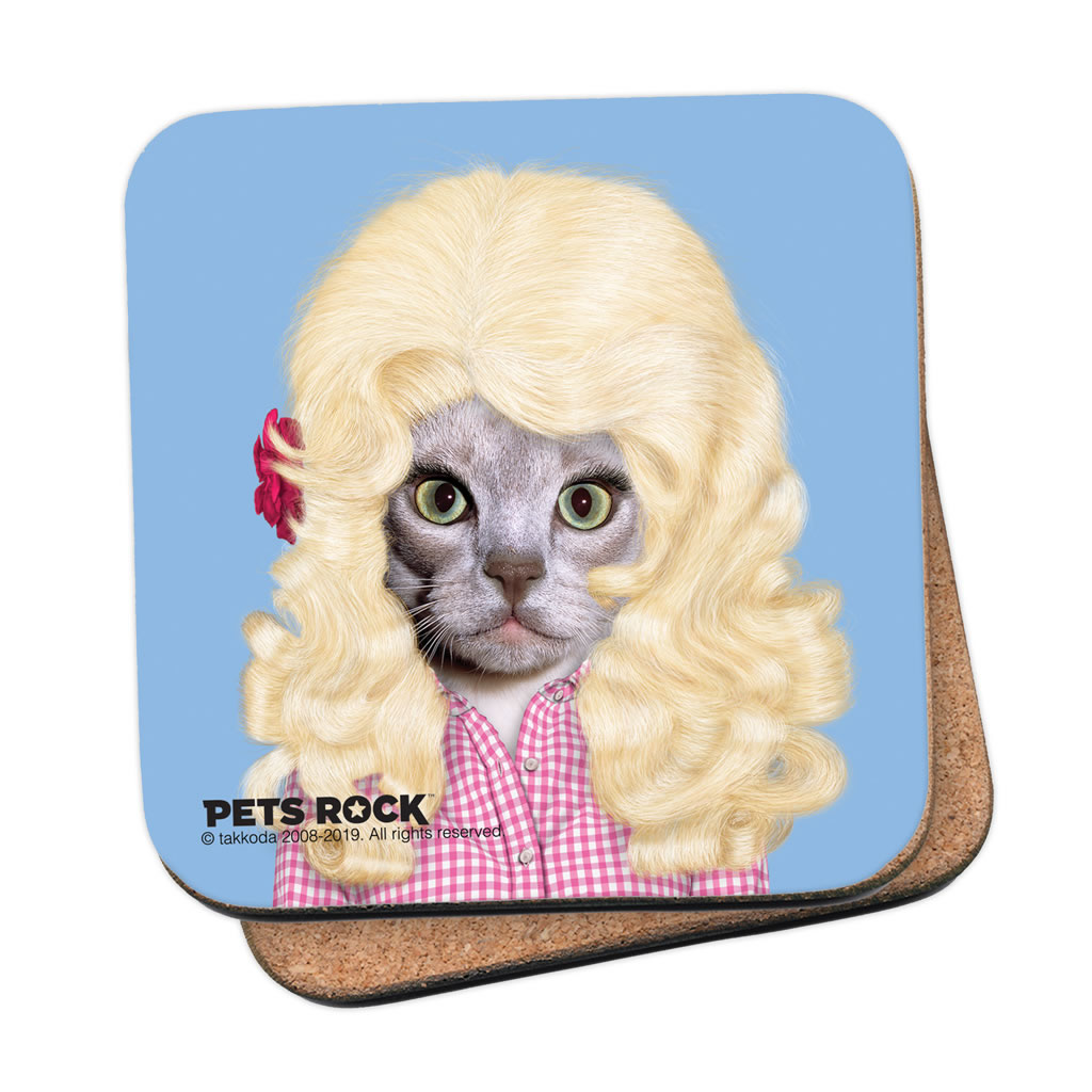 Country Pets Rock Coaster