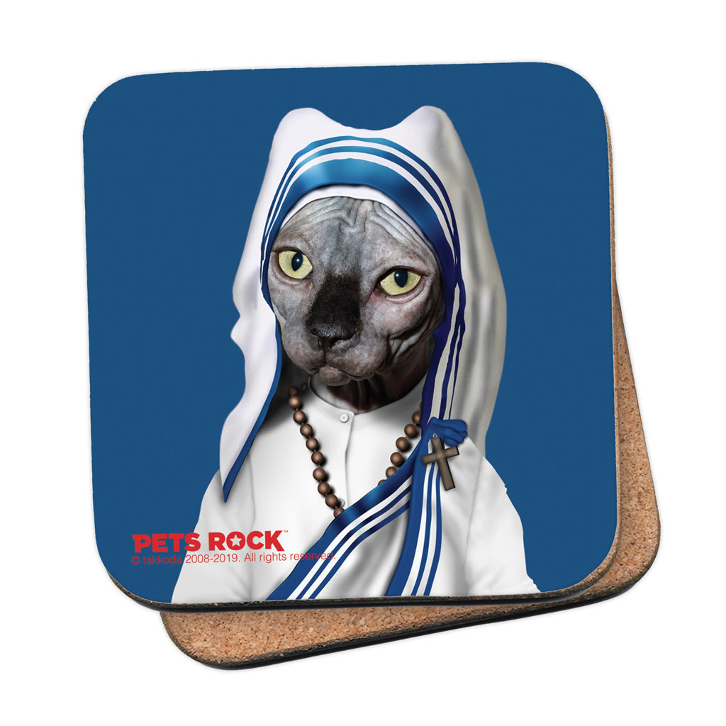 Calcutta Pets Rock Coaster