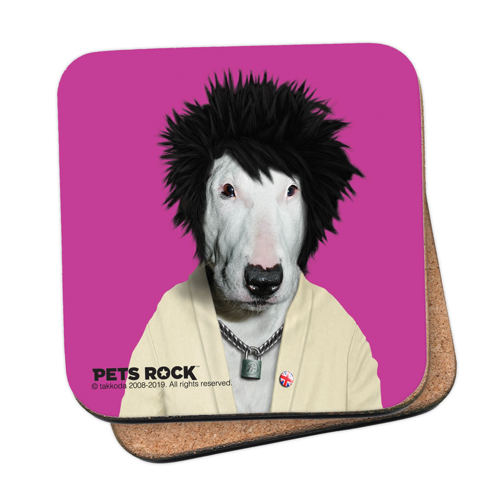 Punk Pets Rock Coaster