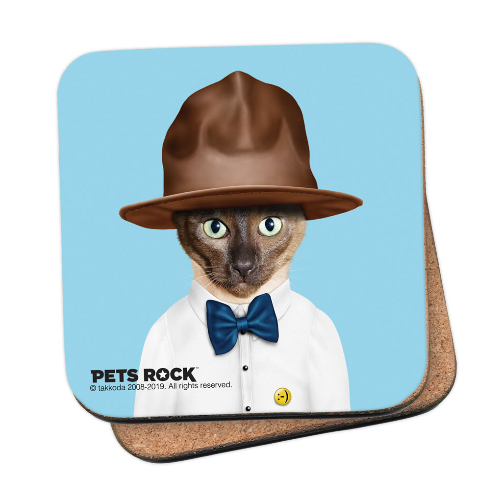 Purrell Pets Rock Coaster