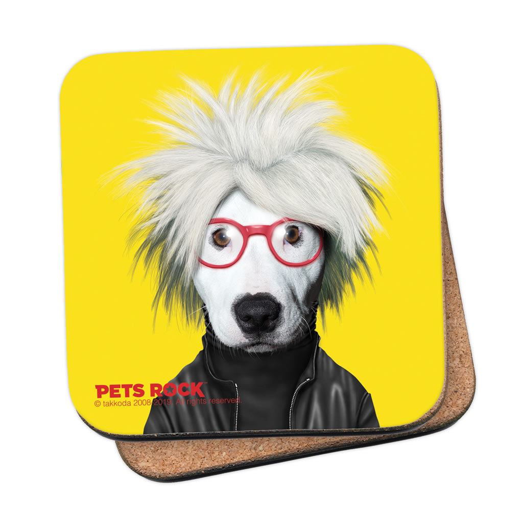 Soup Pets Rock Coaster