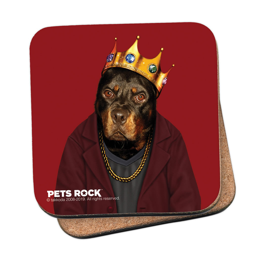 Big Doggie Pets Rock Coaster