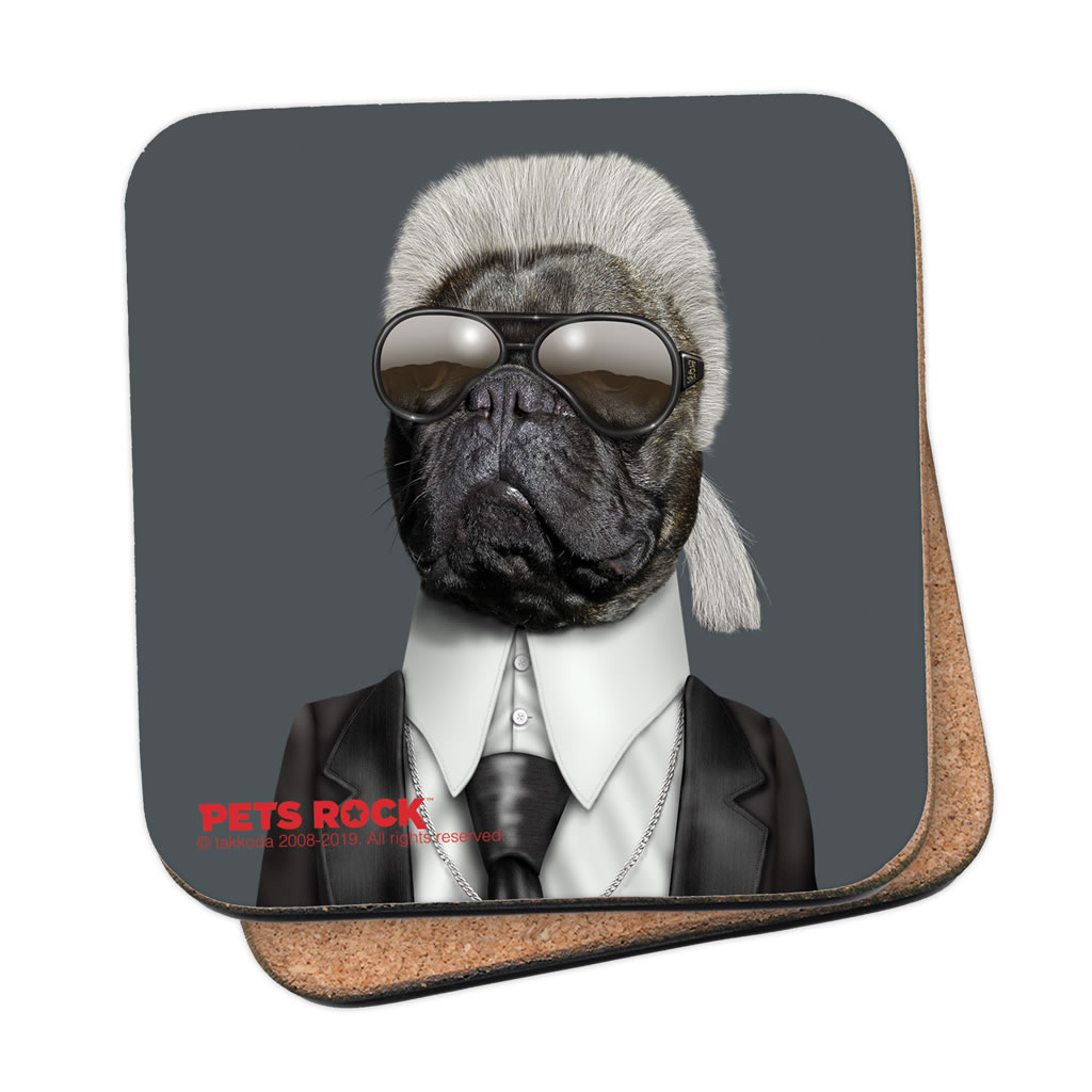 Fashion Pets Rock Coaster