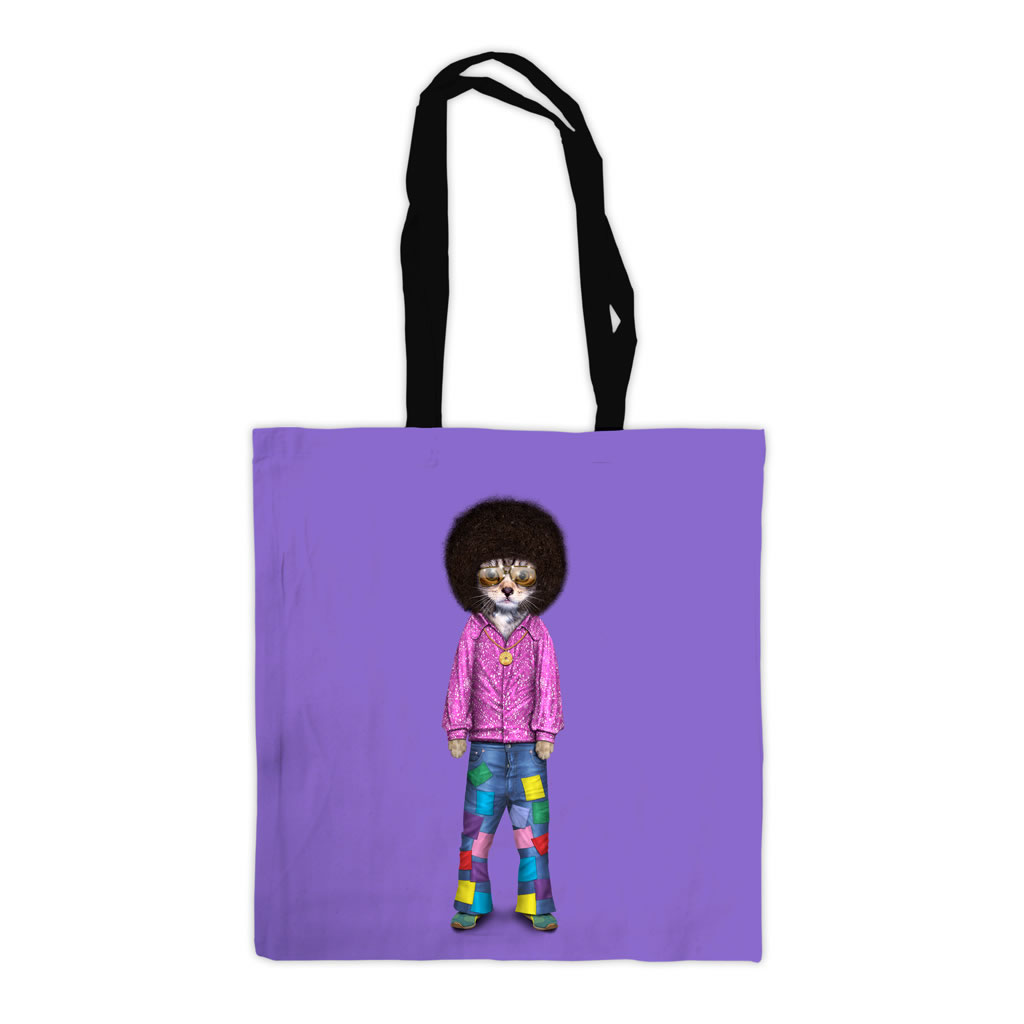 Disco Pets Rock Premium Tote Bag