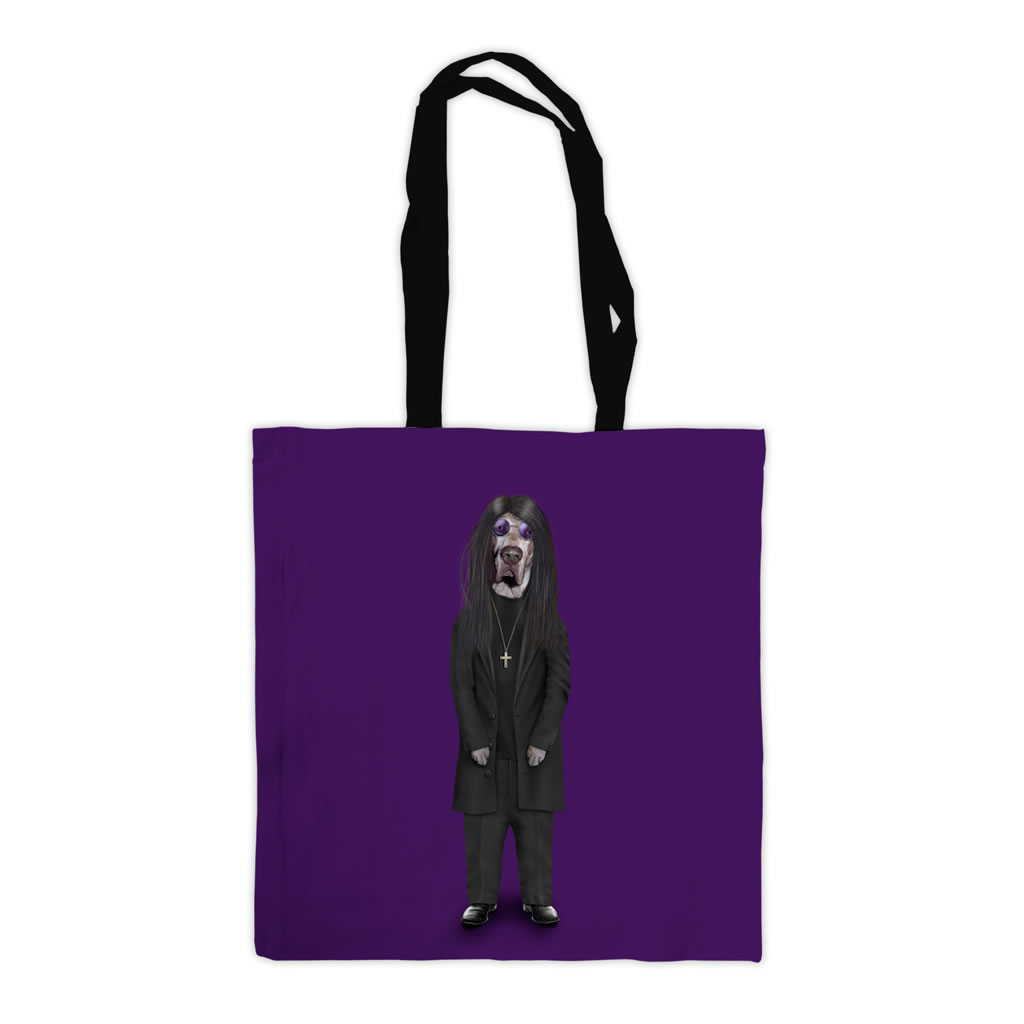 Metal Pets Rock Premium Tote Bag