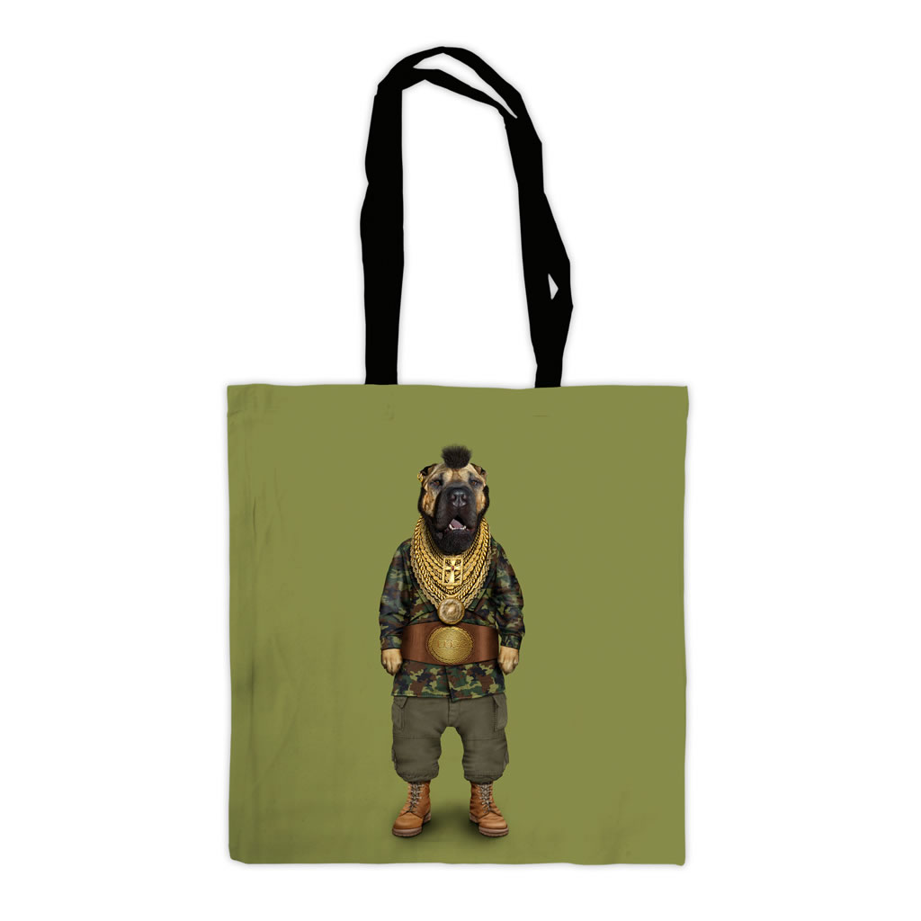 Fool Pets Rock Premium Tote Bag