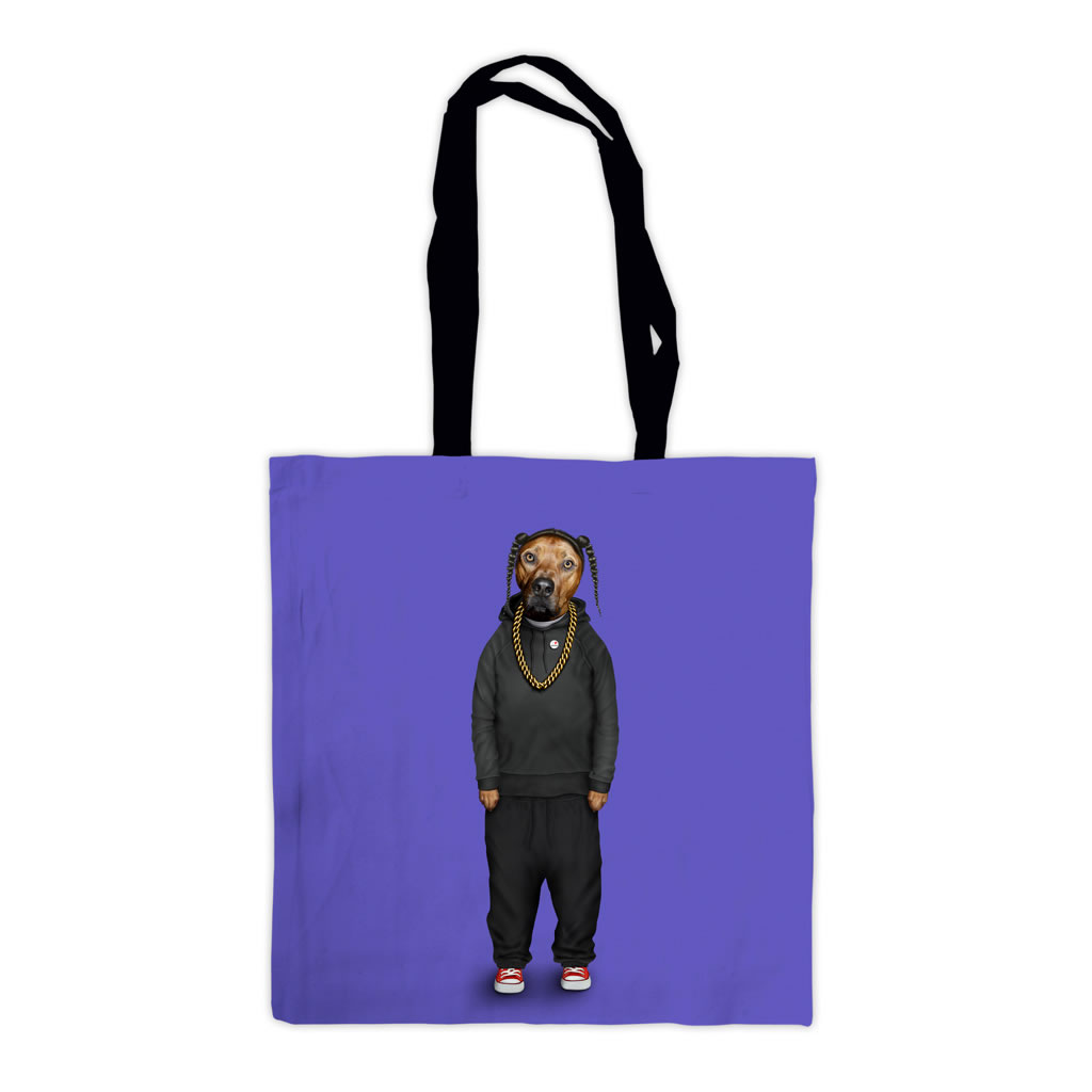 Rap Pets Rock Premium Tote Bag