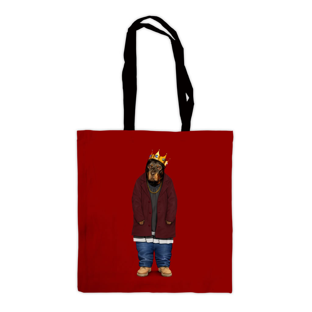 Big Doggie Pets Rock Premium Tote Bag