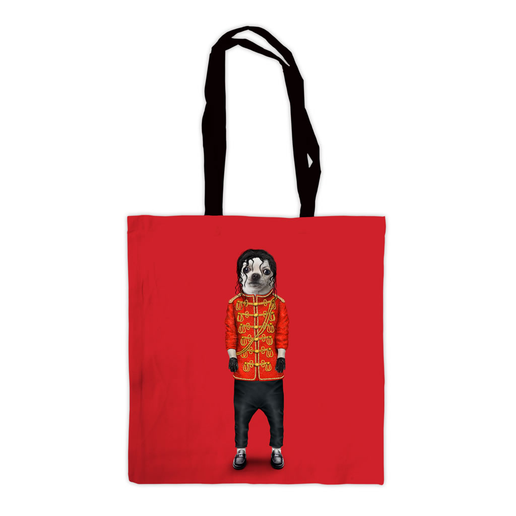 Pop Pets Rock Premium Tote Bag
