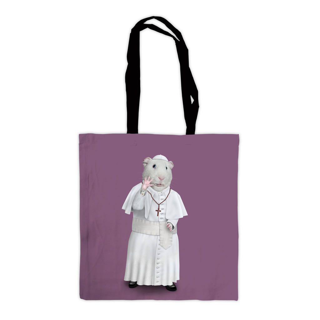 Church Pets Rock Premium Tote Bag