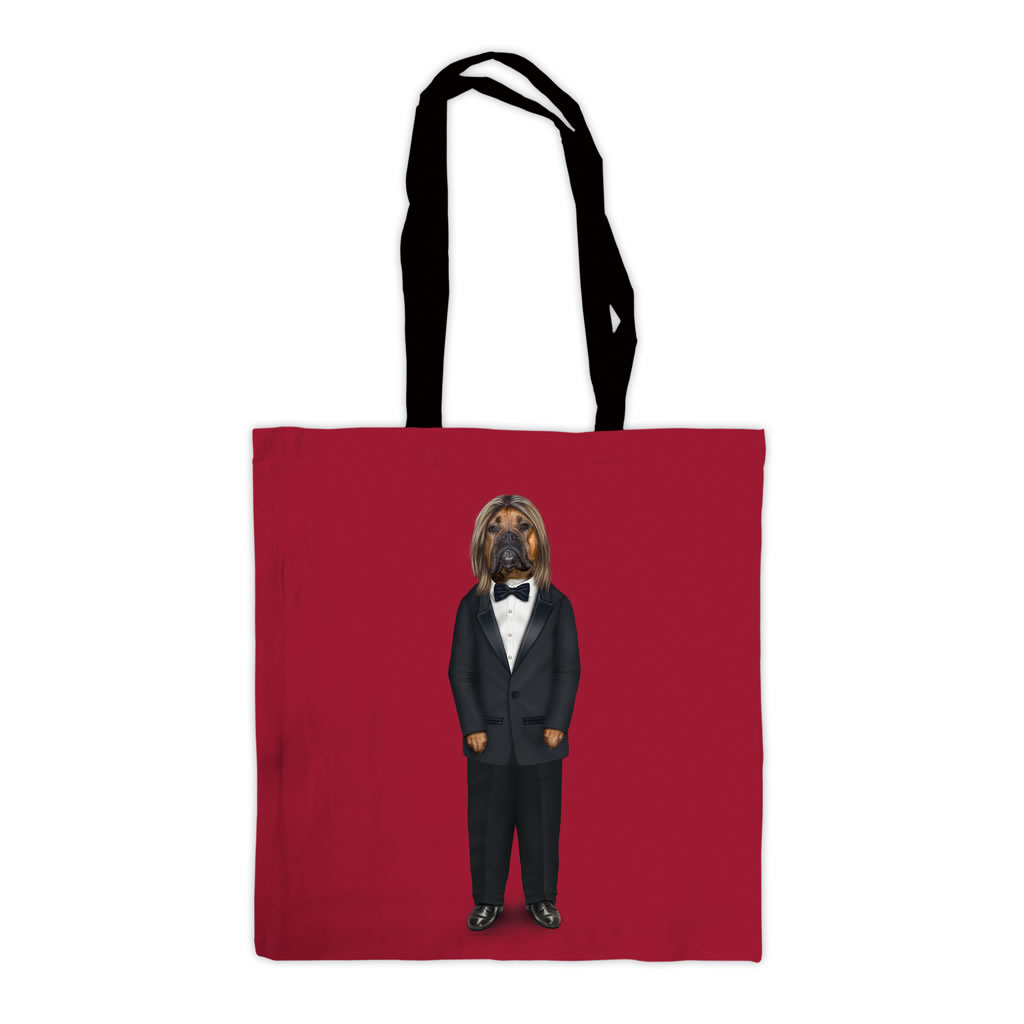 Hollywood Man Pets Rock Premium Tote Bag