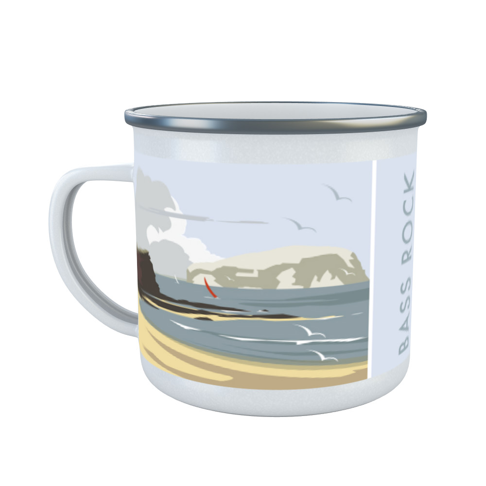 Bass Rock, North Berwick Enamel Mug