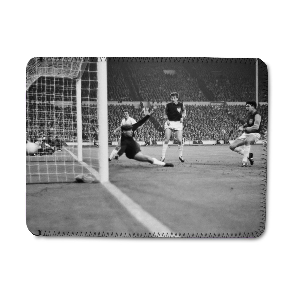 European Cup Winners Cup Final at Wembley Stadium. West Ham United 2 v.. iPad Sleeve