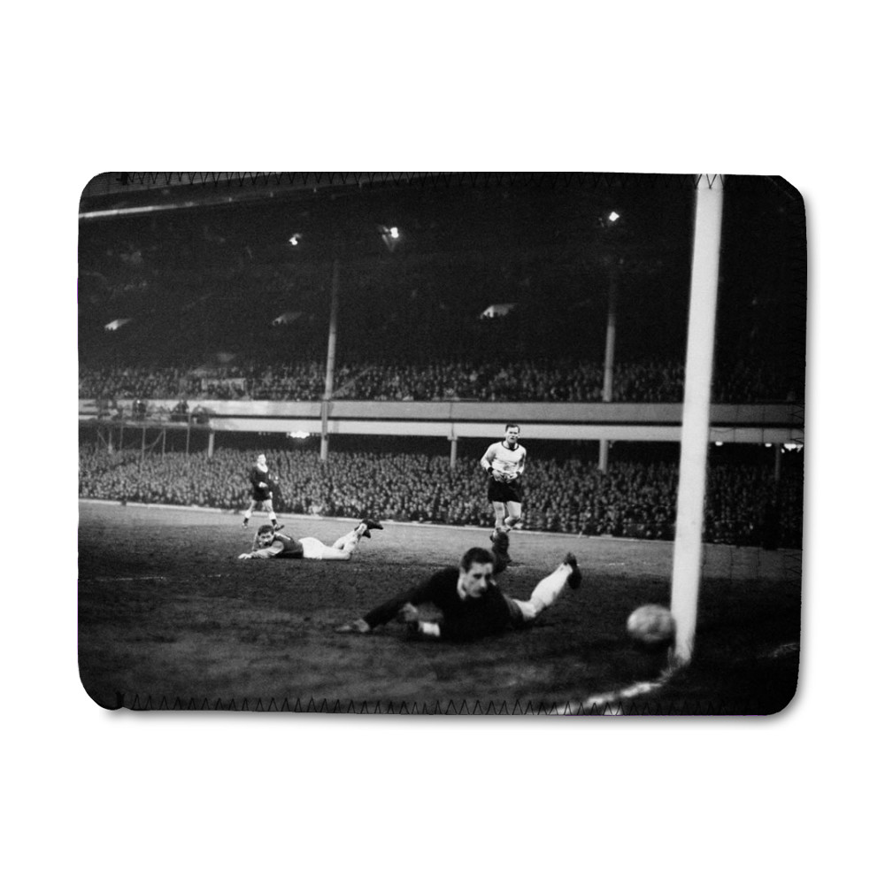 European Cup Winners Cup Semi Final First Leg match at Upton Park. West.. iPad Sleeve
