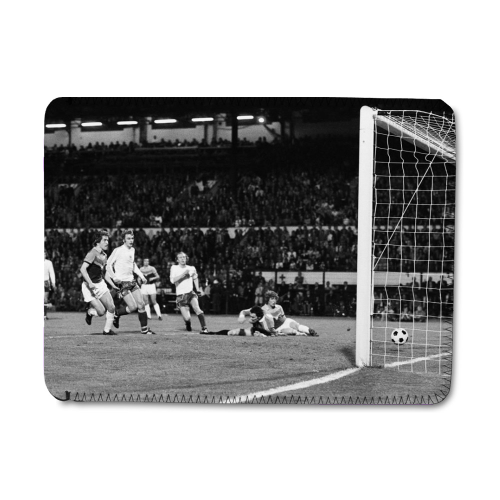 European Cup Winners Cup Final, Anderlecht 4 v West Ham 2, 6th April 1976. iPad Sleeve
