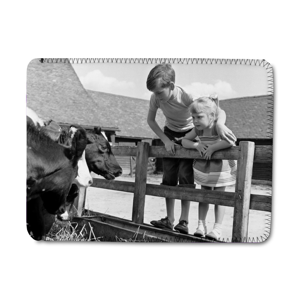 Siblings, Helen (3) and Paul Burrows.. iPad Sleeve
