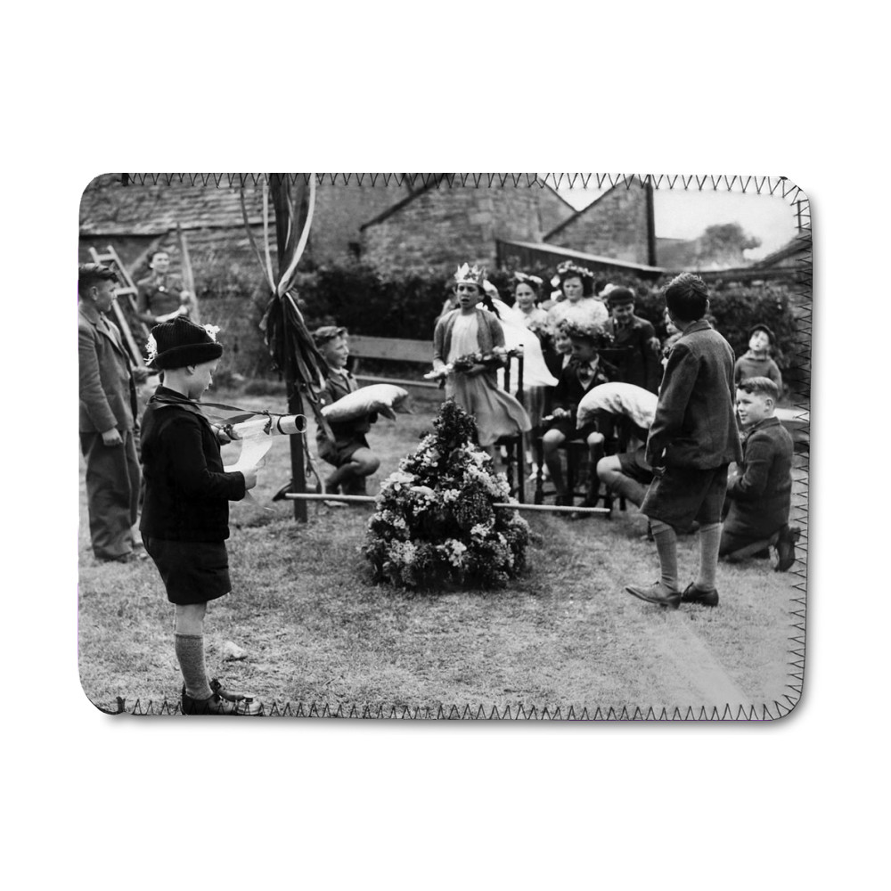 May day at Benefield, Near Kettering,.. iPad Sleeve