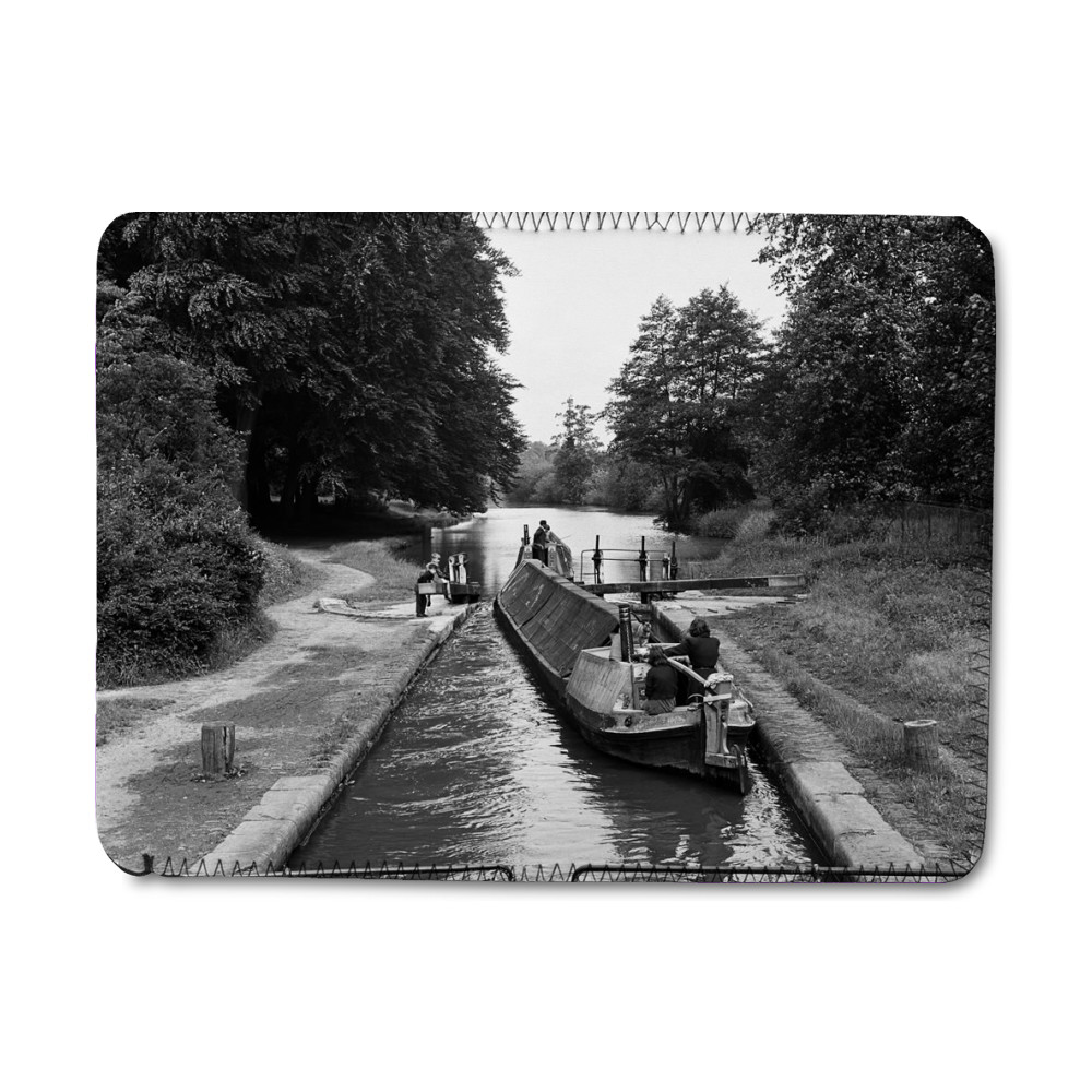 Views along the Grand Union Canal, in.. iPad Sleeve
