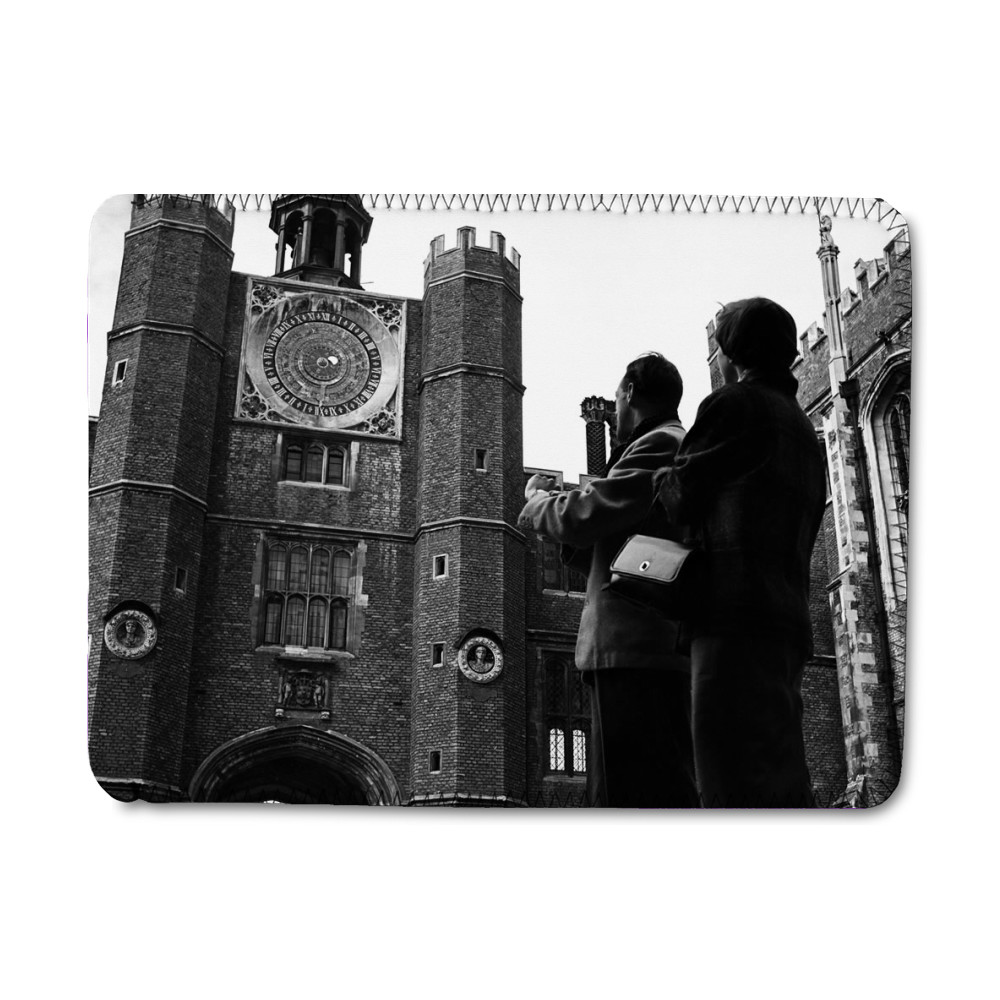 Astronomical clock at Hampton Court.. iPad Sleeve
