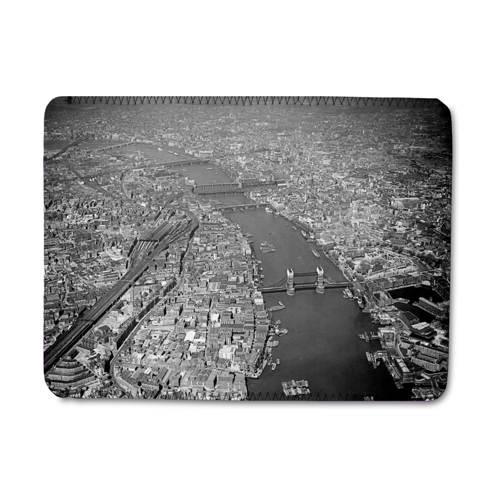 Aerial picture of London iPad Sleeve