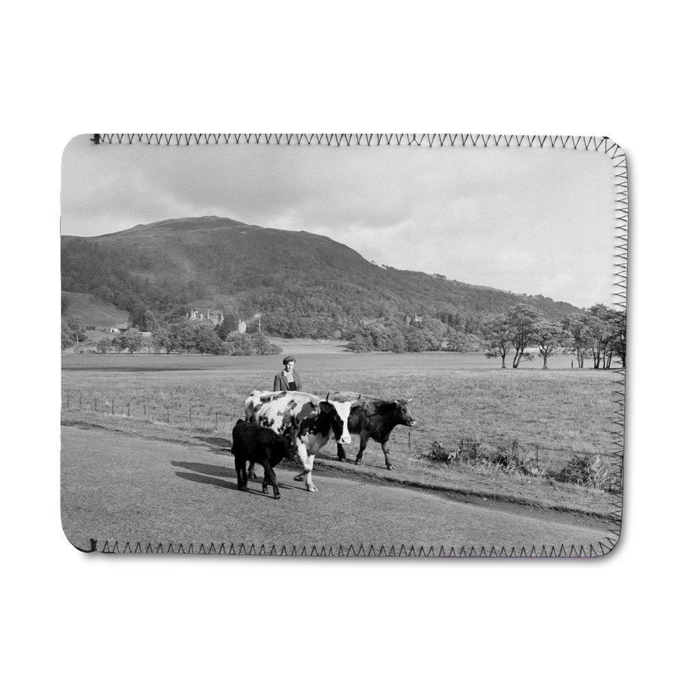 Trossachs, Scotland, 1956 iPad Sleeve