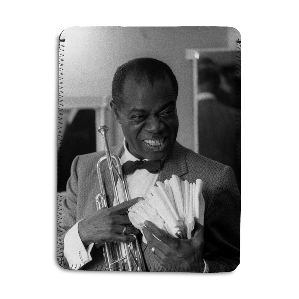 Louis Armstrong iPad Sleeve