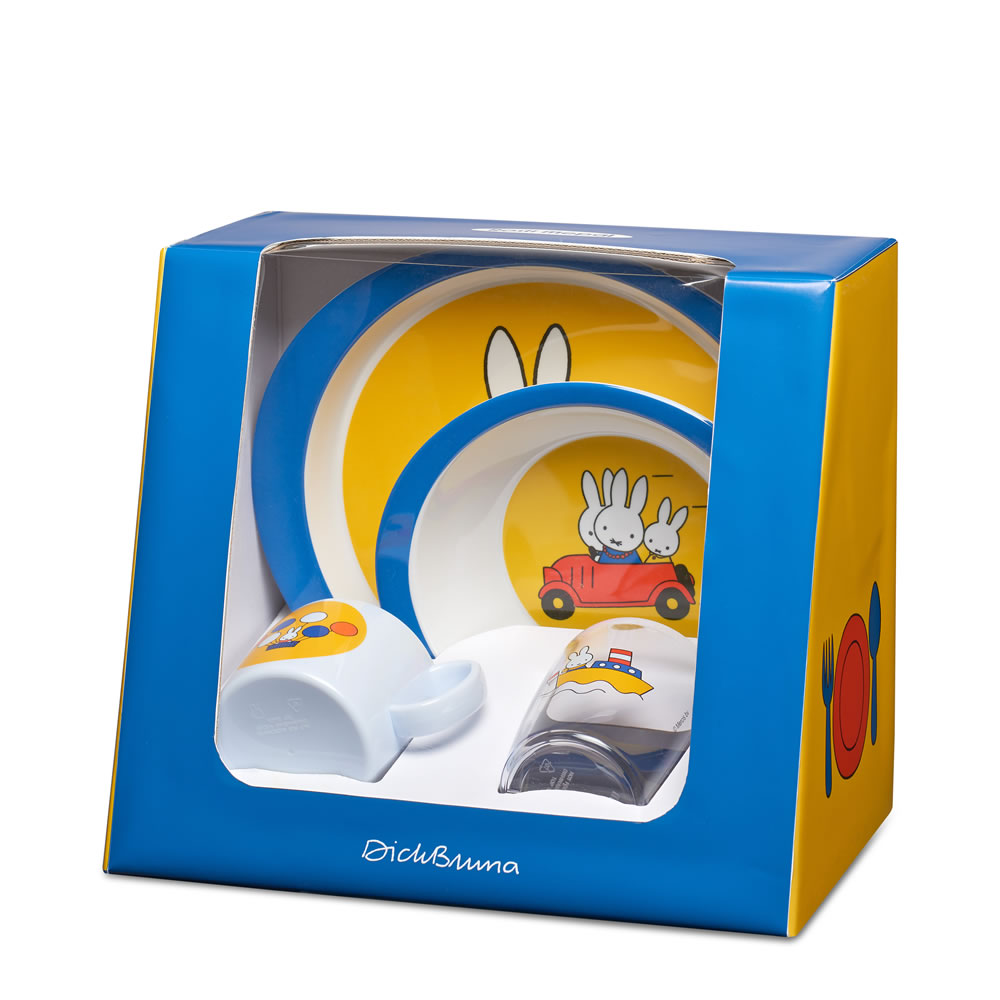 Set Children 4 Pcs - Miffy Travel