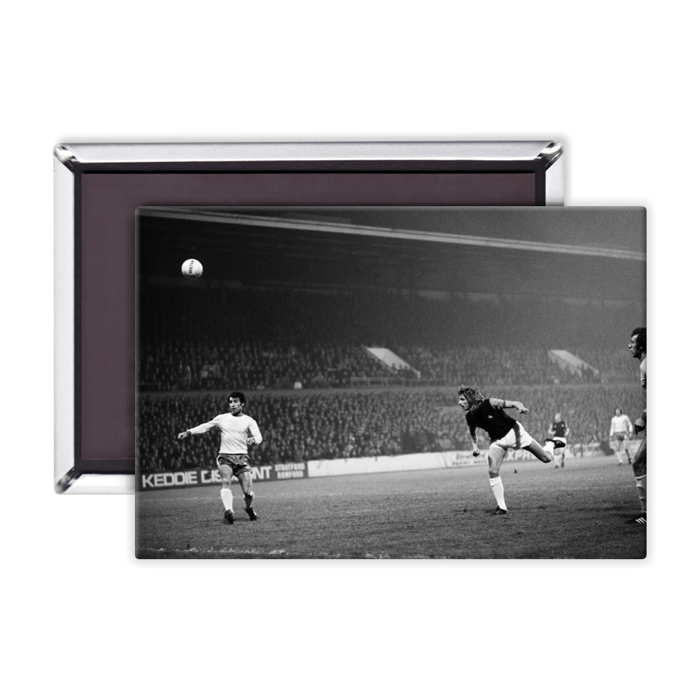 European Cup Winners Cup. West Ham v Ararat Yerevan. Alan Taylor heads the.. Magnet
