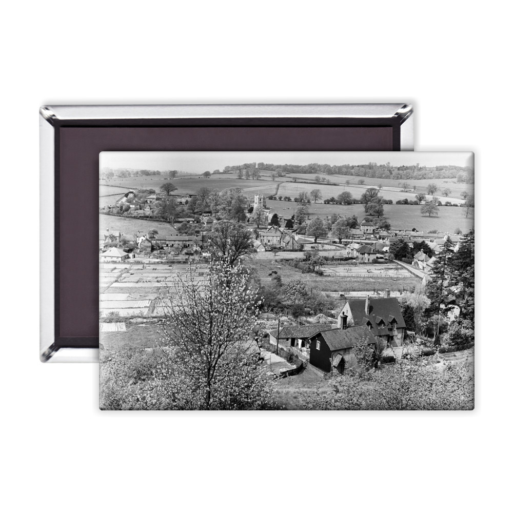 Views of Aldbury Village, near Tring in.. Magnet