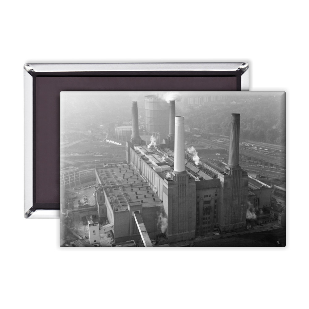 Aerial view of Battersea Power Station,.. Magnet