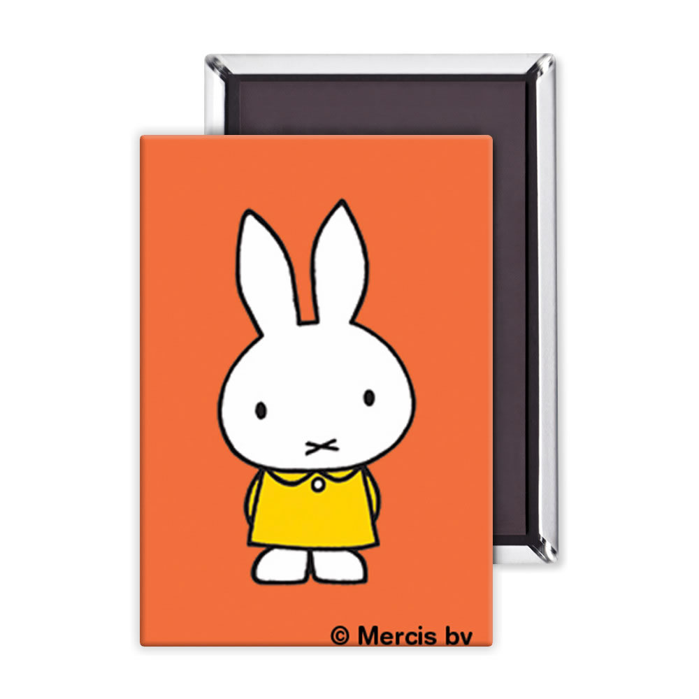 Miffy in a Yellow Dress Fridge Magnet