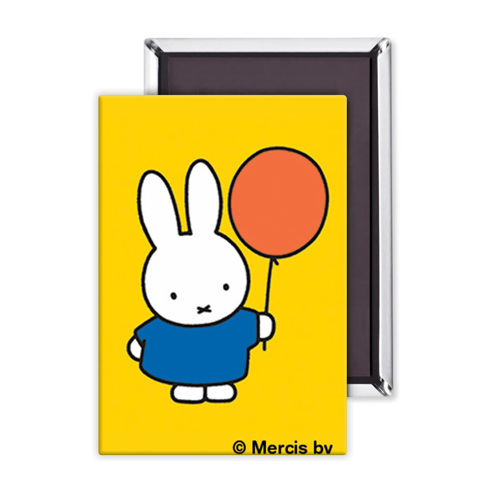 Miffy Holding a Balloon Fridge Magnet