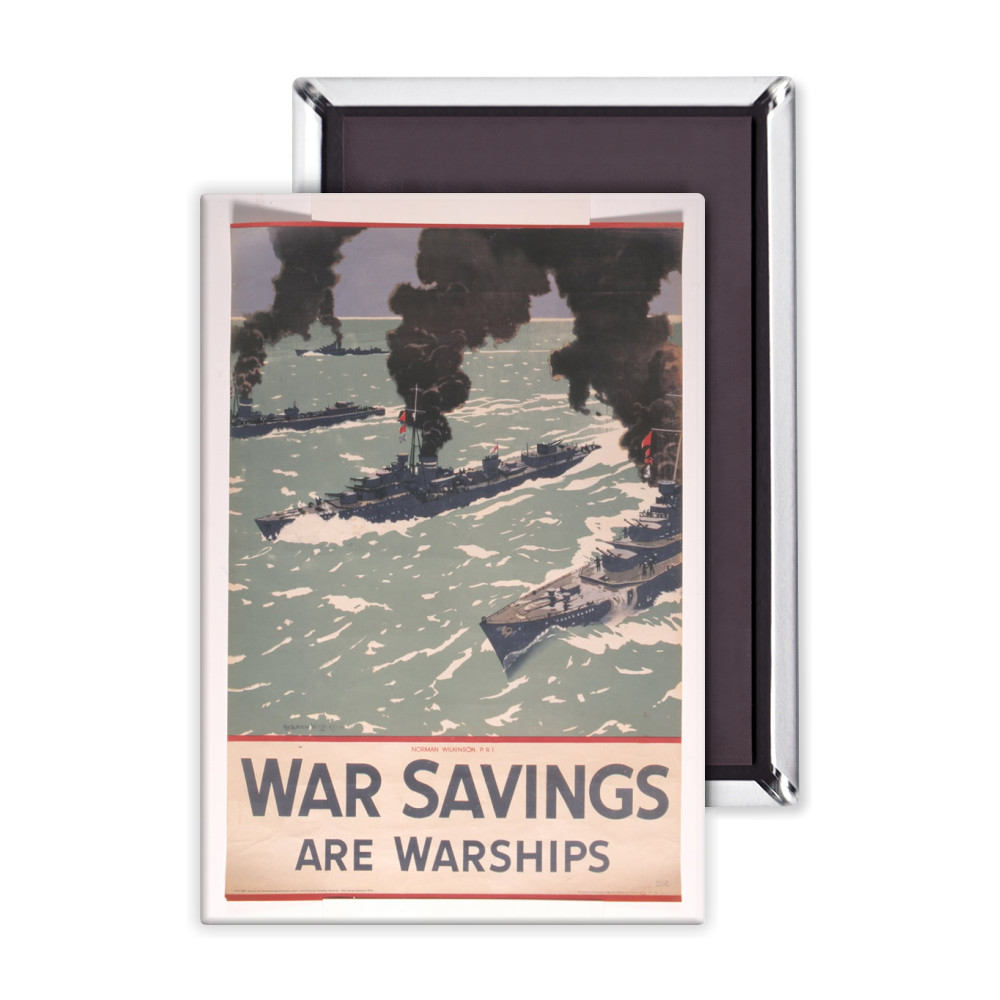 War Savings are Warships Magnet